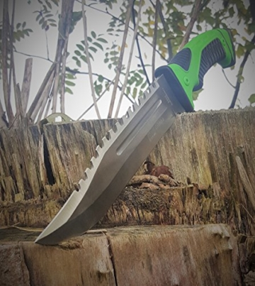 "*2er Set* 32cm Mega Bear-Knife ""RAMBO"" Survival Outdoor Jagd Camping Messer -"