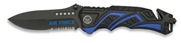 Albainox Messer Tactical Rescue Knife Rettungsmesser Feuerwehr Airforce 19594 -