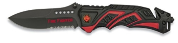 Albainox Messer Tactical Rescue Knife Rettungsmesser Feuerwehr Fire Fighter19596 -
