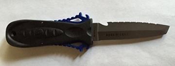 Aqualung Squeeze Lock TITAN (Tauchermesser), blau -