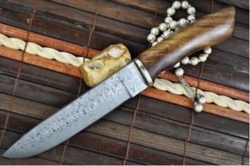 Benutzerdefinierte handgemachte damast Jagdmesser -