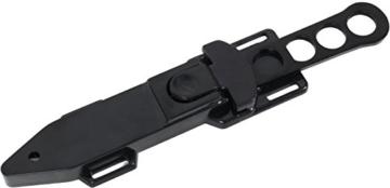 BlackSnake® Tauchermesser aus rostfreiem Stahl mit Beinscheide -