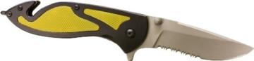 Dönges Klappmesser Rettungsmesser Economy II, schwarz-gelbe Griffeinlage -