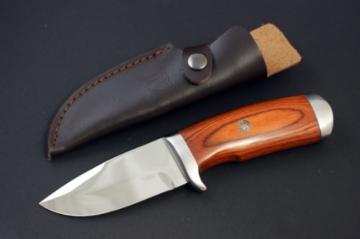 ED MAHONY Jagdmesser Cocobolo Hunter, 440c -