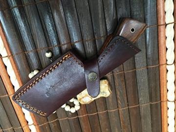 Handgemachtes Damast Jagdmesser - Spaltermesser -
