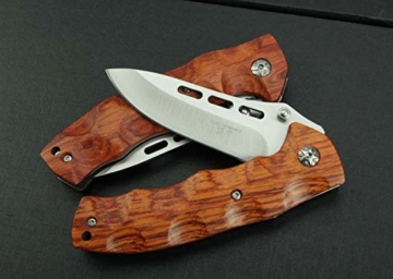 J.C.H. KT35 Rosewood Wooden Handle Klappmesser Jagdmesser Überlebensmesser Taschenmesser Hunting Folding knife -