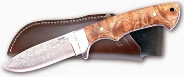 Jagdmesser, Damast rostfrei -