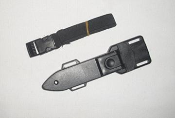 Messer Tauchermesser aus rostfreiem Stahl mit Beinscheide / Holster Beinholster