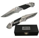 Metmaxx® Rettungsmesser Cut & Rescue Feuerwehrmesser Taschenmesser mit Wunschgravur, Auswahl Gravur:Mit Gravur -