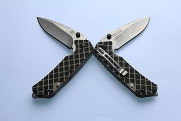 Sanrenmu Messer SRM 7056LUF-GHV-T4 Rettungsmesser Feuerwehrmesser -