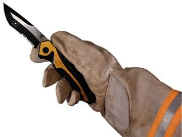 SNAP Rettungsmesser schwarz/gelb -