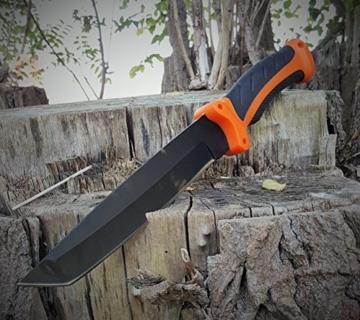 4er Mega Bear-Knife Ultimativ Kit - extrem Survival Outdoor Jagd Messer Set-NEU- -