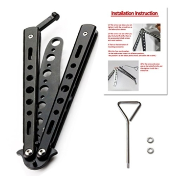 Andux Zone Metall-Klapp Trainer Praxis-Tool, Trainingsgerät CS/HDD01(Schwarz) -