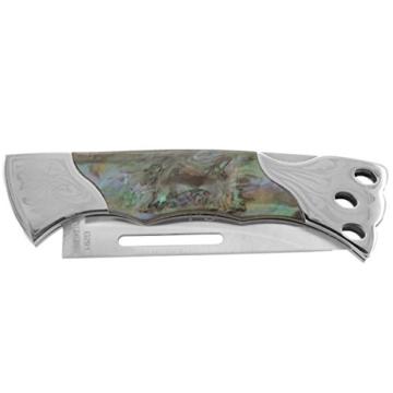 Columbia Tactical Klappmesser mit Spezialmechanismus in Military Tarnfarben Camouflage Jagdmesser Messer Taschenmesser Angel Messer Outdoor Ausrüstung NEU (80219) -