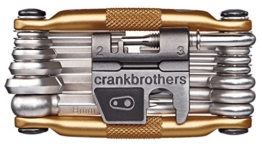 Crank Brothers Multi-19 tool, gold -