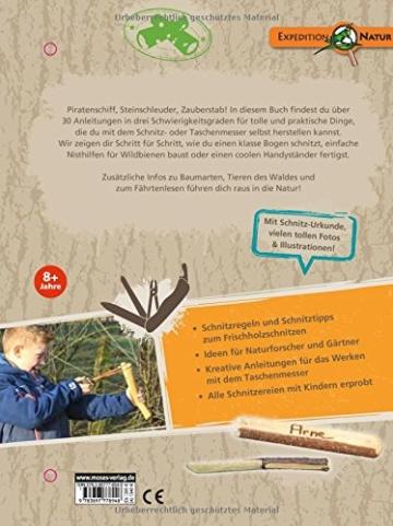 Das Taschenmesser-Schnitzbuch: Über 30 Ideen zum Schnitzen & Basteln (Expedition Natur) -