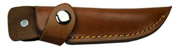 Herbertz Gürtelmesser Pakkaholz Lederscheide Gesamtlänge: 21.0 cm, 114210 -