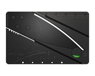 Iain Sinclair Cardsharp 2 Utility knife Messer Taschenmesser Klappmesser , Farbe:Schwarz -