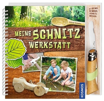 Meine Schnitzwerkstatt: mit Opinel Kinderschnitzmesser -