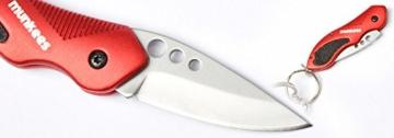 munkees Klappmesser II Taschenmesser, rot, 2522 -