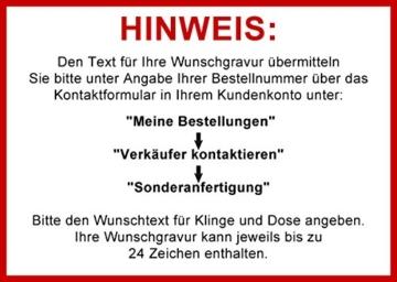 Opinel Kinder-Taschenmesser Buchenholz Geschenkdose inkl. Schleifstein und Wunschgravur auf Klinge + Dose -