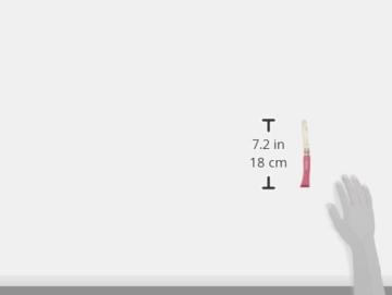 Opinel Kindermesser, rostfrei, Buchenholz, pink -
