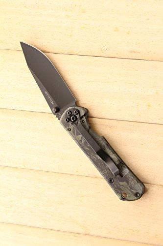 Sanrenmu 7010LUI Outdoor knife Klappmesser Taschenmesser Kreditkartenmesser -