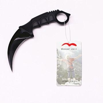 Streik-Greifer-Messer taktisches Überlebens -Camping Messer Werkzeug Karambit Jagdmesser (colormix) -