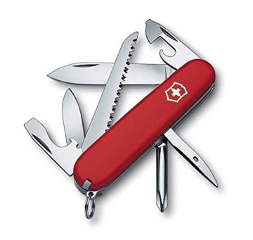 Victorinox Offiziermesser Hiker 13 Funktionen, rot/silber, 1.4613-033 -