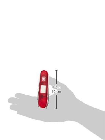 Victorinox Offiziersmesser SwissChamp XAVT rot transparent 1.6795.XAVT -