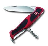 Victorinox Taschenmesser Ranger Grip 52 rot-schwarz, 0.9523.C -