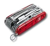 Victorinox Taschenwerkzeug OffiziermSwiss Champ XLT Rot Transparent, 1.6795.XLT -