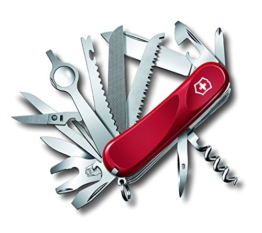 Victorinox - The Original Swiss Army Knife,Taschenmesser Evolution 28 Rot, 2.5383.E -