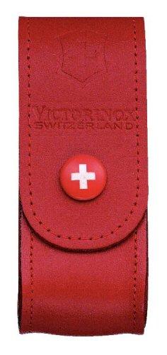 Victorinox Zubehör Gürteletui Leder rot, 4.0520.1 -