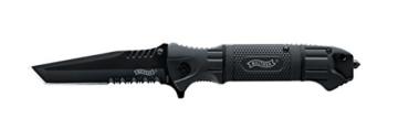 Walther Messer Black Tac Tanto Knife, 5.0716 -