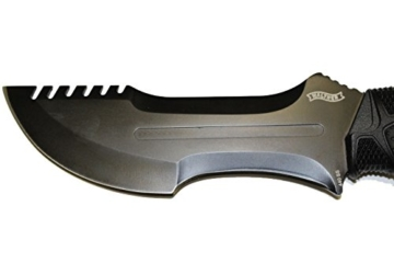 Walther Outdoormesser OSK I Outdoor Survival Knife, inkl. Messerschärfer  und Holster -