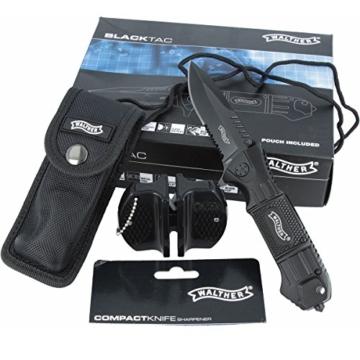 Walther Tactical SET Messer 50715 + Tasche UND Messerschärfer -