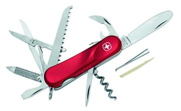 Wenger Messer Schweizer Taschenmesser Kindermesser Länge geöffnet: 15.0 cm, 156393 -